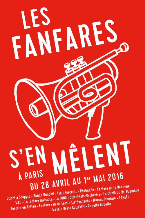 Les fanfares s'en melant - Paris mit Masala Brass Kollektiv